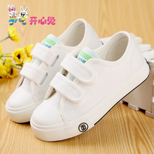 Baby Canvas Shoes Boy White Cotton-Made Summer Baby Sneakers Brand Single Shoes Toddler Shoes For Baby Girls(China (Mainland))