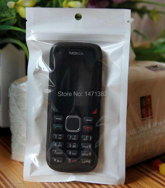 7.5*12cm hang hole small ziplock bags,white palstic zipper bags(China (Mainland))