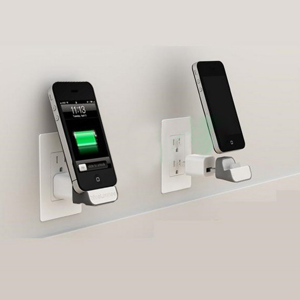 mini idock wall wireless charging charger stand station. Black Bedroom Furniture Sets. Home Design Ideas