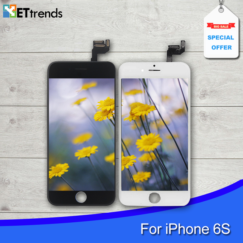10PCS/LOT Original A grade LCD Screen for iPhone 6S LCD Display Screen Digitizer Assembly Replacement Free Shipping by DHL(China (Mainland))