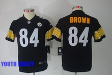 100% Stitiched,Pittsburgh Steelers,Antonio Brown,for womens youth and mens(China (Mainland))