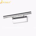 3W Bathroom LED Stainless Steel Wall Lamp Light SMD5050 Mini Style Warm White LED Modern Wall