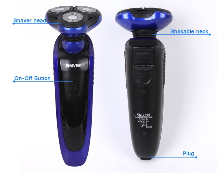 KM-7666-Electric-Shaver (3)