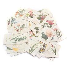 52 Pcs/Bag DIY Mini Cute Lace Flower Sticker Vintage Retro Sticky Paper For Scrapbooking Decoration 4cm x 5.5cm(China (Mainland))