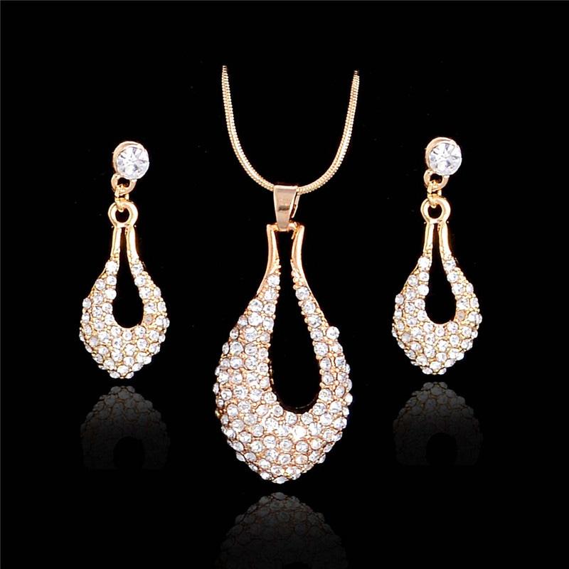 Wedding Jewellery Gift Sets : ... bridal gift perhiasan african bridal jewellery set-in Jewelry Sets