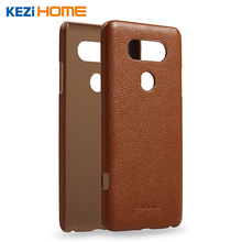 "Buy Case LG V20, KEZiHOME Litchi Pattern Genuine Leather Hard Back Case Cover LG V20 5.7"" Phone cases for $8.07 in AliExpress store"