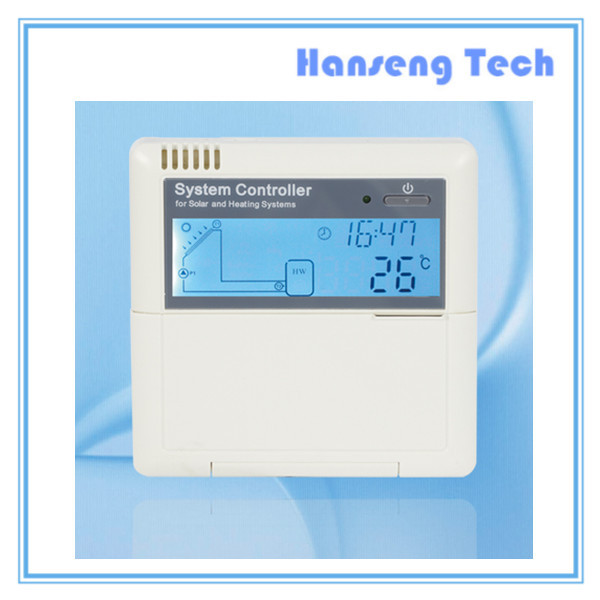 Factory Outlet ,Wholesale & Retail intelligent solar water heating system controller SR868C8Q(China (Mainland))