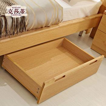 Free Shipping Furniture rustic series storage box storage cabinet general bed drawer w5301
