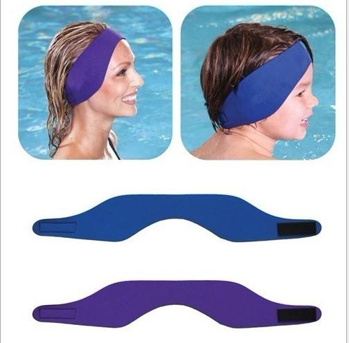 Mix 6 Color Neoprene Ear band Swim wear for adult Child Ear protector waterproof warmer Aqua headband(China (Mainland))
