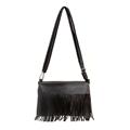 2017 New Leather Women Messenger Bag Vintage Tassel Luxury Designer Shoulder Bags Ladies Handbag Clutch Bags