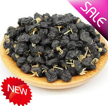wholesale black wolfberry Medlar healthy berries pure goji berry dried fruit 500g best food keeps you young and beautiful!(China (Mainland))