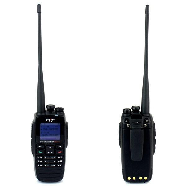 Walkie Talkie TYT DM-UVF10 VHF+UHF 136-174+400-470MHz 5W 256CH VOX Scan Digital Dual-Band Two Way Radio DPMR Digital(China (Mainland))