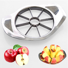 Stainless Steel Vegetable Fruit Apple Pear Cutter Slicer Processing Kitchen Utensil Tool 1PCS Free Shipping