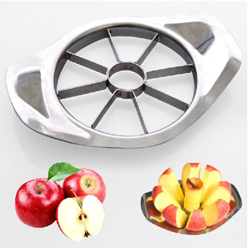 Stainless Steel Vegetable Fruit Apple Pear Cutter Slicer Processing Kitchen Utensil Tool 1PCS Free Shipping(China (Mainland))