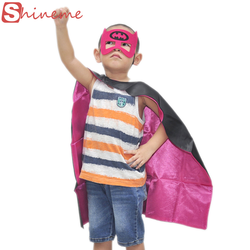 150capes+150masks kids superhero capes children birthday party outfit chrismas gift super hero cape superman spiderman costume