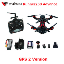 F16181 Walkera Runner 250 Advance with 1080P Camera Racer RC Drone Quadcopter RTF with DEVO 7 / OSD / Camera GPS 2 Version(China (Mainland))