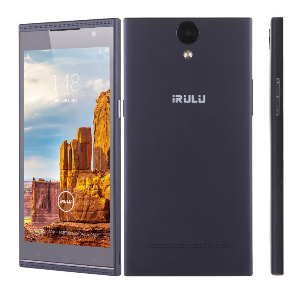 "IRULU V1 5.5"" QHD MTK6582 Quad Core 8GB Android 4.4 Mobile Celular Smartphone 8.0MP Camera Wifi GPS Dual SIM Bluetooth(China (Mainland))"