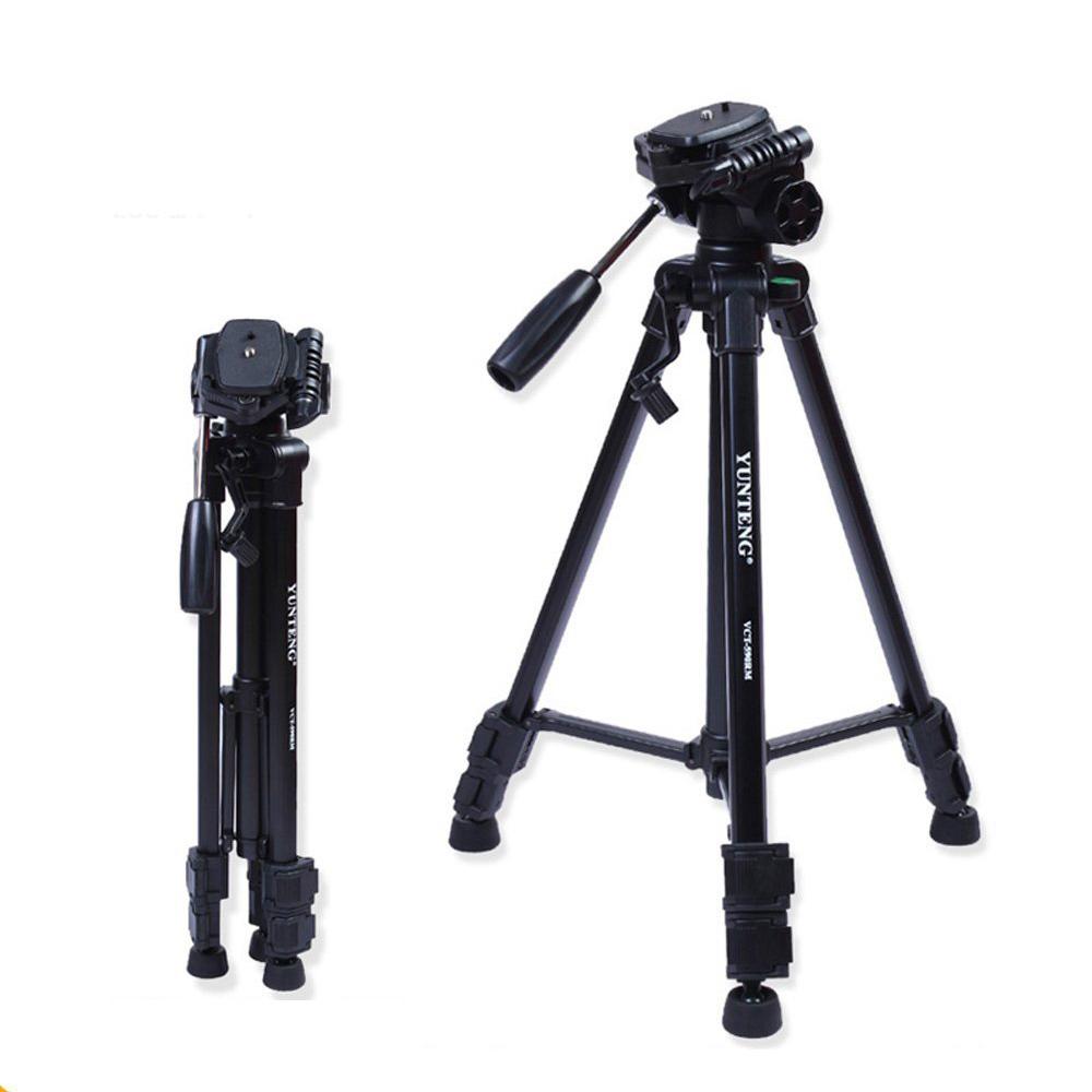 YunTeng YT-590 Mini Tripod with Damping Head for gopro hero 4s 4 3 SJCAM for Canon & Nikon & Sony & <font><b>Samsung</b></font> camera <font><b>DSLR</b></font>