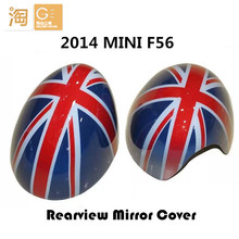 2014 MINI Cooper F56 F55 Side Rear View Mirror Cover Union jack and checkered