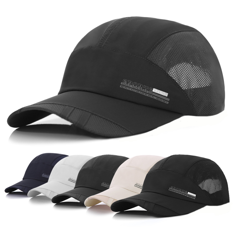 Hat male summer outdoor sunbonnet sunscreen sun hat baseball cap male quick-drying breathable sports cap(China (Mainland))