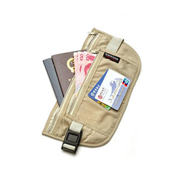 Close Fitted Waist Breathable Mesh Cotton Cloth Pack Bag Pocket Pouch for Traveling Outdoor US#V(China (Mainland))