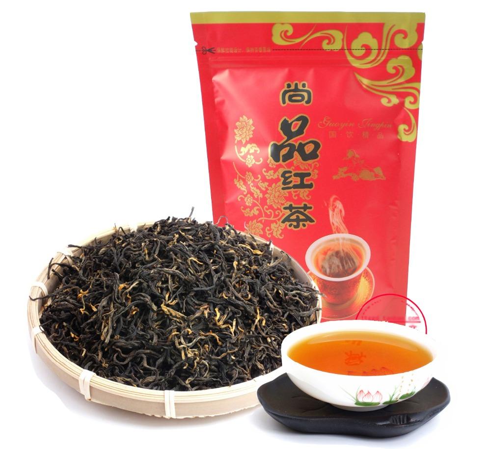 Organic tea Dian hong maofeng tea large congou black tea premium red Chinese mao feng dian hong famous yunnan black tea 200g(China (Mainland))