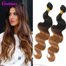 Buy Malaysian Body Wave Ombre Malaysian Virgin Hair 3 Bundles 7A Unprocessed Wet Wavy T1B/27 Two Tone Malaysian Ombre Hair Body for $30.96 in AliExpress store