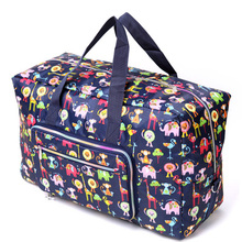 Free shipping kip style Large capacity folding waterproof sports fitness travel bag portable women's tote bags(China (Mainland))