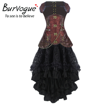 Long Mermaid  Steampunk High Waist Bodycon Long Skirts