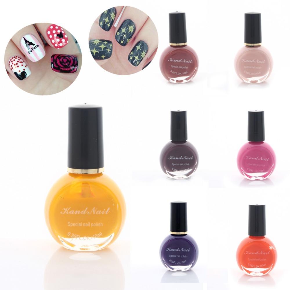 2015 New !! Fashion 1pc 16 Colors Women Nail Polish Art Manicure 10ML Enamel Nail Varnish(China (Mainland))