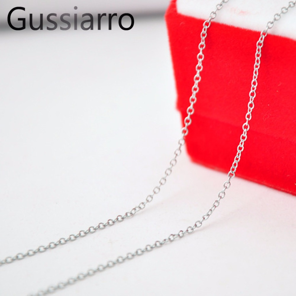 Gussiarro Length 455mm Classic 18K Yellow Gold Plated / Platinum plated Women Chokers Chain Necklace for Woman Fashion Jewelry(China (Mainland))