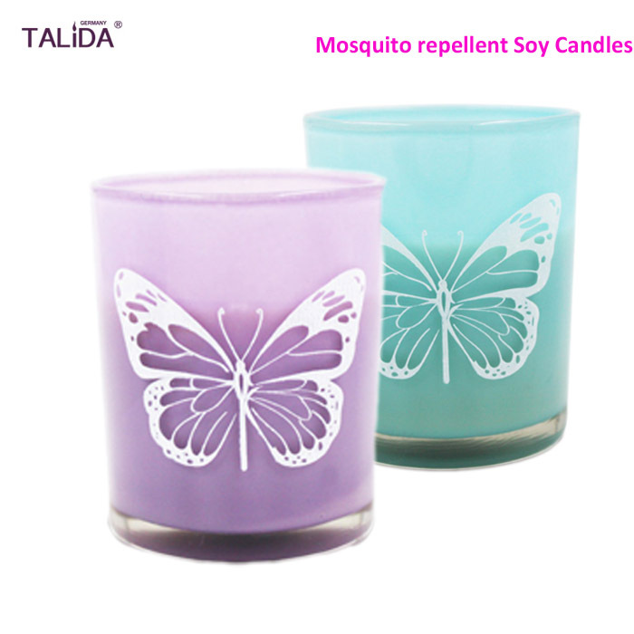 120g/4.2oz Summer Mosquito Repellent Candle 100% Natural Soy wax Anti-Fly Incense Home Safe Mosquito Killer(China (Mainland))