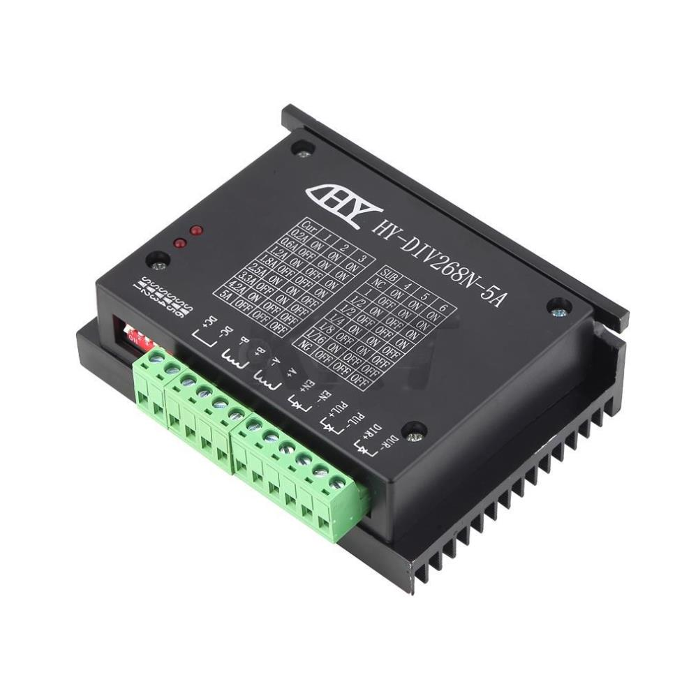 CNC Single Axis TB6600 0.2-5A Two Phase Hybrid Stepper Motor Driver Controller Worldwide Store