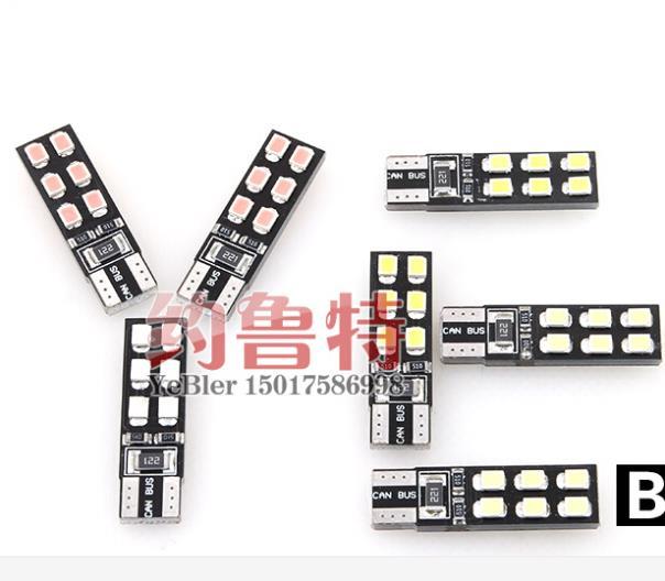Габаритные огни Ww 12 T10 LED W5W opel astra insignia meriva antara zafira