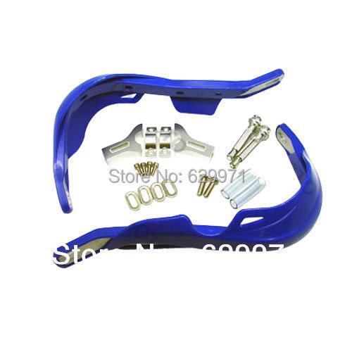 Синий Universal MX мотокросс ATV велосипед для трюков пластик / алюминий кисть вручную углозащитные 7 / 8