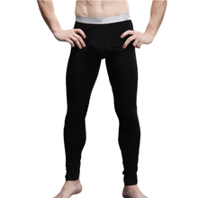 New Arrival Men's Long Johns Modal and Spandex Thin Thermal Underwear Pants-Free Shipping(China (Mainland))