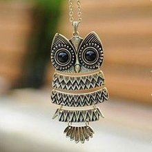 Hot Selling Vintage Owl Necklace Retro Owl Jewelry 15pcs/lot Free Shipping(China (Mainland))