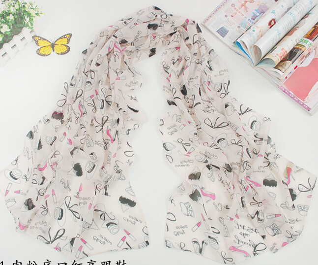 155 43cm 2015 New Brand Fashion Foulard Casual Summer Silk Scarf Women Chiffon Plaid Shawl Scarves