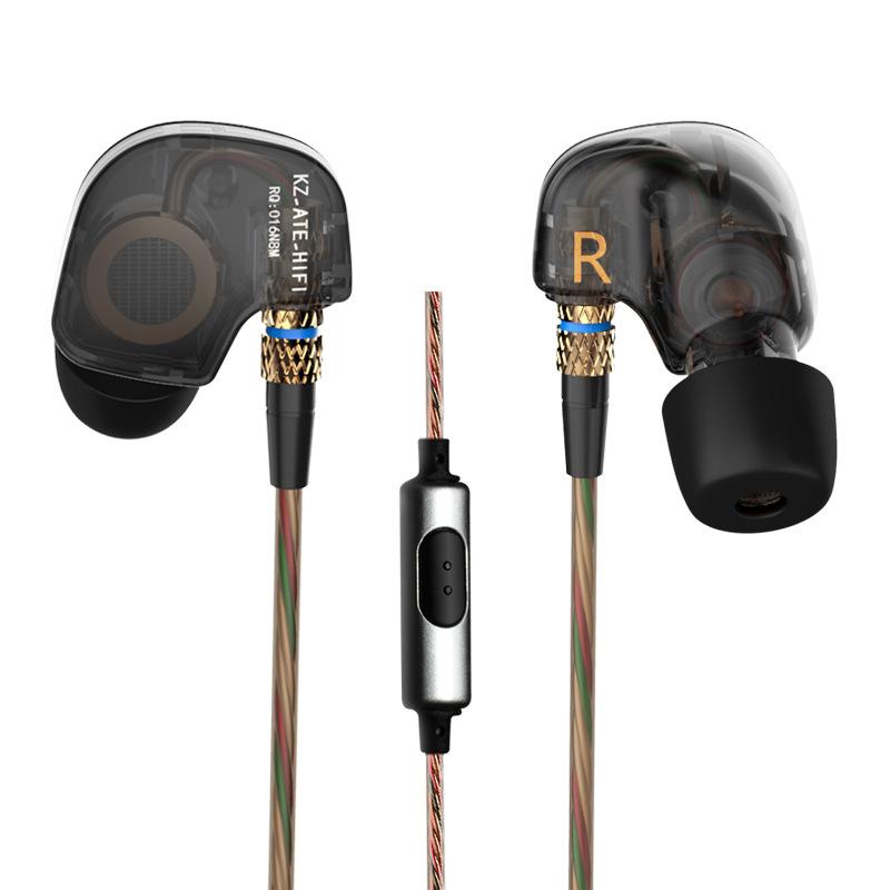 high quality Original KZ-AET metal headphone 3.5mm in-ear bass headset music HIFI stereo earphone for mobile phone mp3 mp4(China (Mainland))