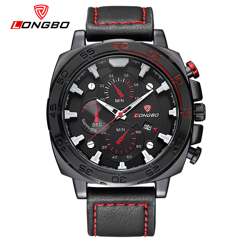 online buy whole 2016 new square luxury watch men from 2016 new longbo luxury men leather watch sports quartz watches for men leisure clock military watch