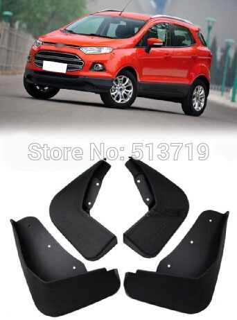 free shipping For 2013 Ford Ecosport Mud Flaps Splash Guards Fender Flap Flaps Mudguard(China (Mainland))