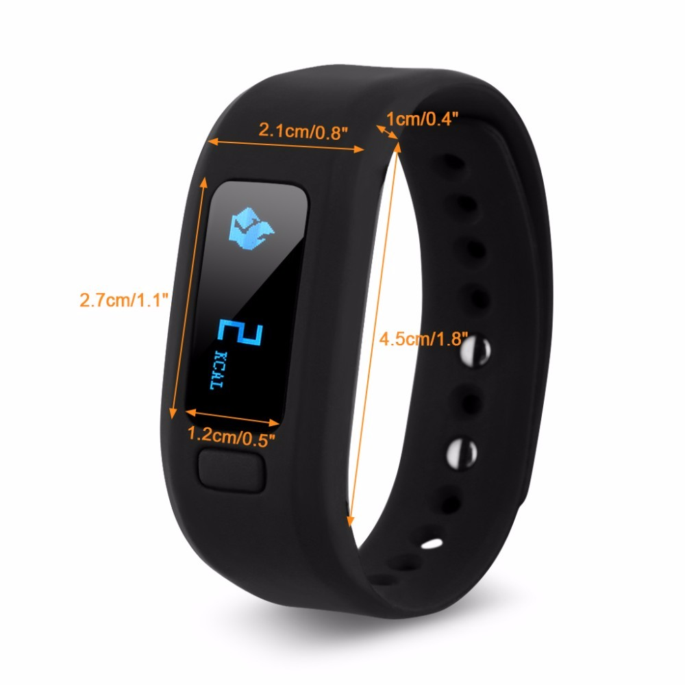 Moving up2 Smart Bracelet Bluetooth Activity Wristband Fitness Sleep Tracker Reminder For iPhone IOS Android PK Fitbits