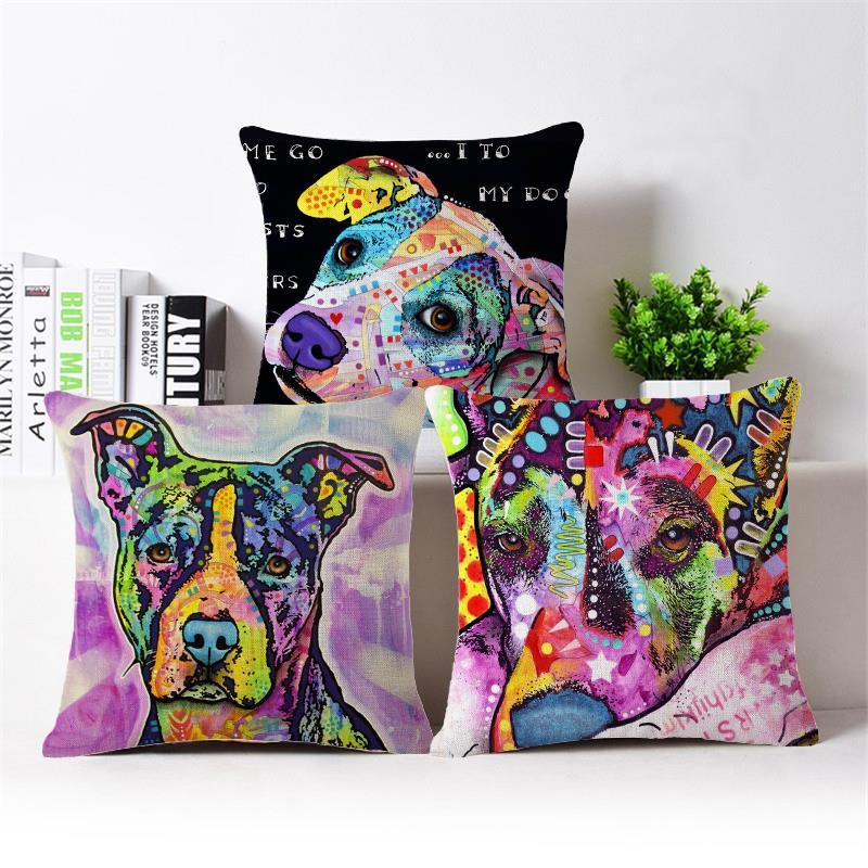 Online get cheap shabby chic pillows - Fundas cojines sofa ...