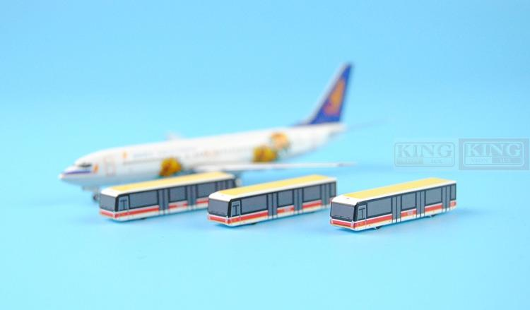 Hainan Airlines PandaModel metal car ferry bus 1:400. commercial jetliners plane model hobby(China (Mainland))