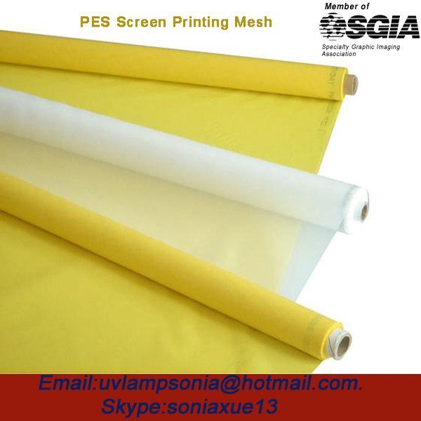 Free Shipping with Fast Delivery! 120mesh/47T 55um 127cm Monofilament Silk Screen Printing Mesh(China (Mainland))