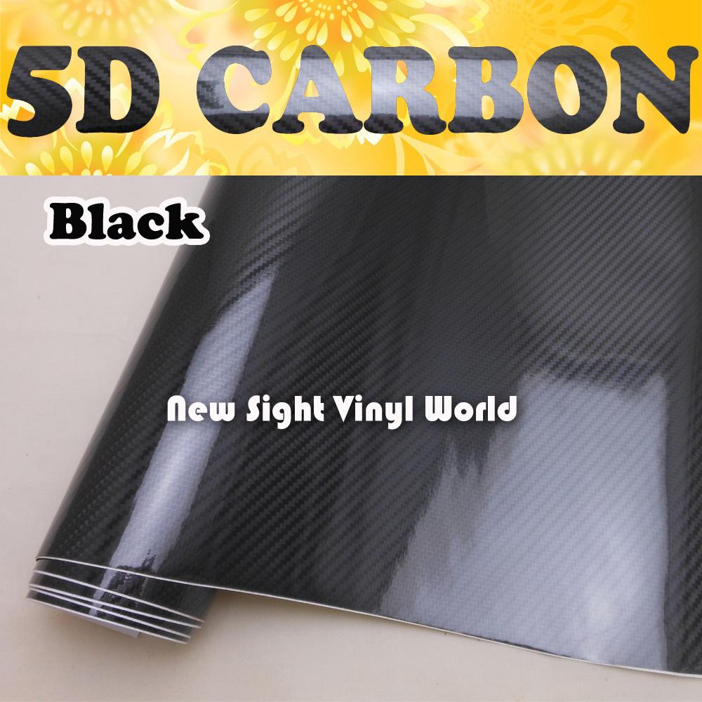 Premium Super Shiny Black 5D Carbon Fiber Film Roll Car Wrap Air Free Bubble For Vehicle Wraps Free Shipping Size:1.52*20m/Roll<br><br>Aliexpress