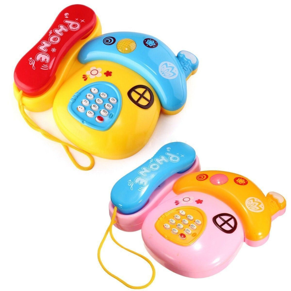 High Quality Baby Kids Musical Mobile Phone For Toddler Sound Educational Learning Toy Newest(China (Mainland))