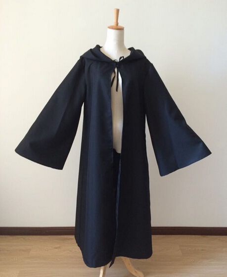 Star Wars Costume Jedi Hooded Robe for Adults