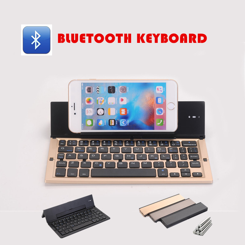 New Arrival Bluetooth Keyboard Wireless Keyboard 58 Keys Support Windows Android IOS Cellphone/Tablet PC Computer 3Colors GK608(China (Mainland))
