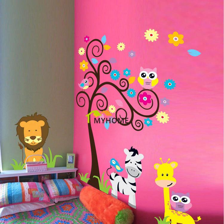 Cuarto de bebe niño animales: decorar la habitación del beb  con ...